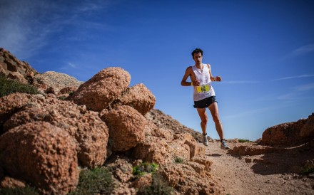 Kilian Jornet is one of four stars in the Western States film. Photo: Philipp Reiter.
