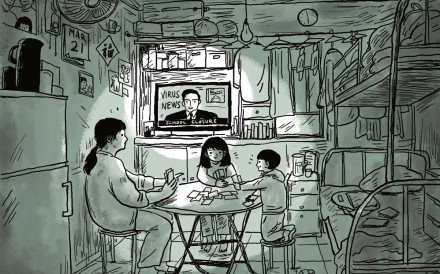 The strain of living in close quarters for prolonged periods is taking its toll on many families. Illustration: Brian Wang