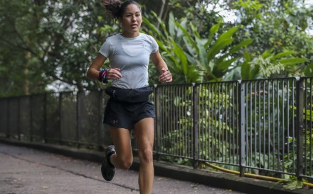 Hong Kong trail runner Leslie Van said her latest injury took a toll on her mental health as well as her body. Photo: Edward Wong