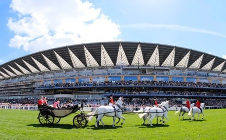 The Royal procession at Royal Ascot. Photo: Handout