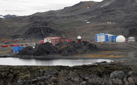 The Chinese base 'Great Wall Station; on King George Island, Antarctica. Photo: EPA