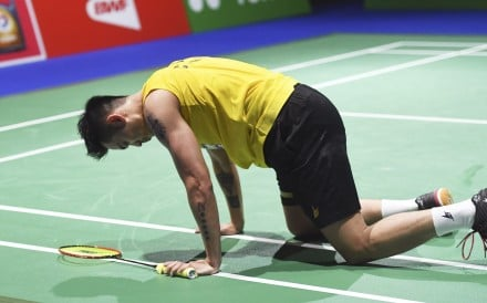 Lin Dan is finding the going tough and is not the same player he used to be. Photo: Xinhua