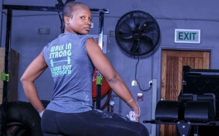 Cingiwe Ciegy Seru has been Botswana's top female CrossFitter for the past three years. Photo: Handout