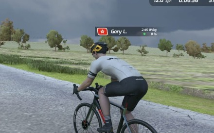 RGT Cycling lets you go on a virtual bike ride.