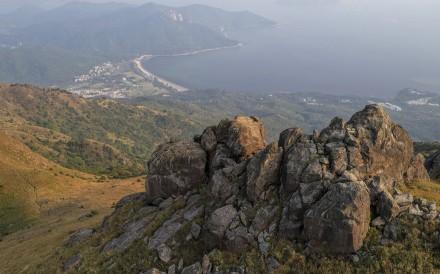 View from Sunset Peak on Lantau, Hong Kong. Photo: Martin Williams