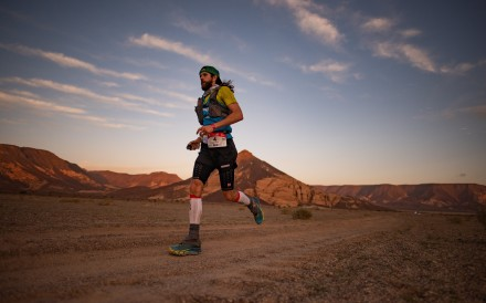 Globetrotting ultra runner Michael Wardian runs all over the world, but it is 6.7km loop that brings him his latest victory. Photo: Studio Zag/Kirk Kenny