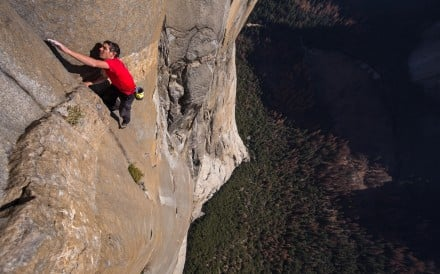Alex Honnold shares his tips on managing fear – and who better to give that message than the man who climbed El Capitan without a rope. Photo: National Geographic/Jimmy Chin