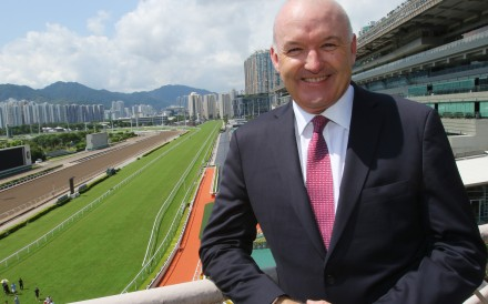 David Hayes is announced as Hong Kong's newest trainer earlier this season. Photos: Kenneth Chan