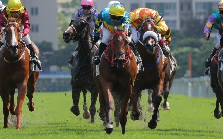 Ben So pilots Good View Clarico to victory at Sha Tin on Sunday. Photos: Kenneth Chan