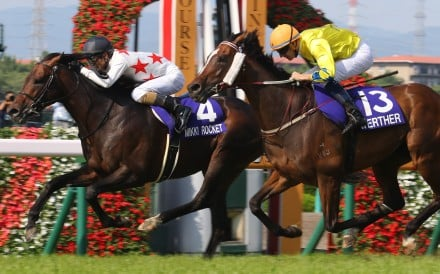 Mikki Rocket beats Werther in the 2018 Takarazuka Kinen. Photo: Kenneth Chan