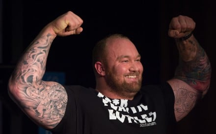 Icelandic actor Hafthor Bjornsson has been called out by his old friend, now rival, Eddie Hall, with new evidence he 'double dipped' at the 2017 World's Strongest Man event. Photo: EPA-EFE