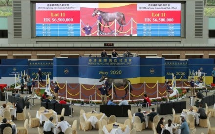 Lot 11 is sold for HK$6,500,000 at Saturday's Hong Hong International Sale. Photos: Kenneth Chan