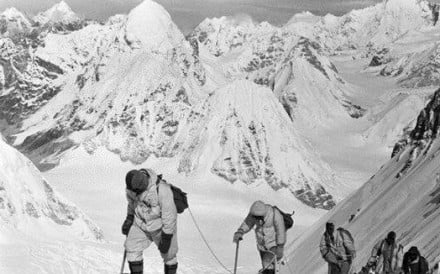 The first Chinese team to summit Everest, on May 25, 1960, were met with disbelief because of a bare-foot climb and the tone of the official statement from the Chinese government. Photos: Handout