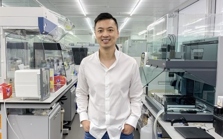 Danny Yeung, CEO of Prenetics poses for photo at Prenetics' office in Quarry Bay. Photo: Alison Tudor-Ackroyd