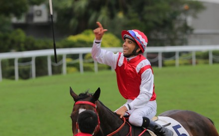 Joao Moreira is confident he can return to his best at Sha Tin on Sunday. Photos: Kenneth Chan