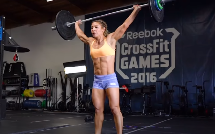 Nicole Carroll is the first high-profile staff member to resign from CrossFit Inc. Photo: CrossFit Games/YouTube