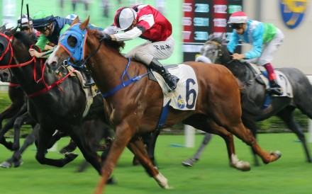 Assimilate salutes at Sha Tin last month. Photos: Kenneth Chan