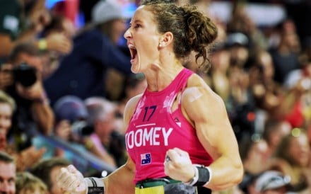 Tia-Clair Toomey, three-time CrossFit Games champion, is competing this week in the Rogue Invitational. Photo: Handout