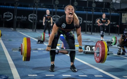 Sara Sigmundsdottir is one of the big name athletes competing at the Rogue Invitationals. Photo: Dubai CrossFit Championship