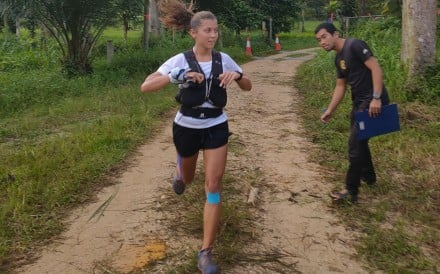 Veronika Vadovicova, winner of the Asia Trail Master 2019, has started a community called Asia Trail Girls. Photo: ITR Run