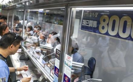 Racing fans bet in Hong Kong. Photos: Kenneth Chan