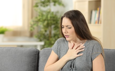 Breathing difficulties are among the symptoms of anaphylaxis. Photo: Shutterstock