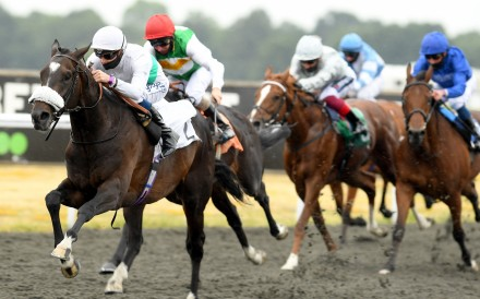Berlin Tango wins the Classic Trial at Kempton Park in June. Photo: RACINGFOTOS.COM