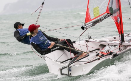 "Calum Gregor (red cap) says sailing gives you ""a sense of freedom, like nothing else"". Photo: Handout"