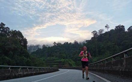 Veronique Bourbeau beat all the men to win the Coast 2 Coast 444km ultra marathon in Malaysia and now is training for a trans-Africa adventure. Photo: Elvin Yeo