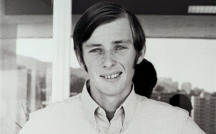 Jockey John Moore in Hong Kong in 1971. Photo: SCMP