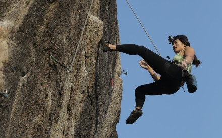 Even the best rock climbers fall, but if you are struggling to regain your confidence there are some steps to follow. Photo: SCMP