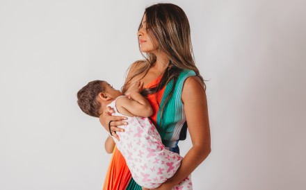Working mother Liz Thomas is on a mission to normalise breastfeeding in Hong Kong. Photo: Rosalia Sempere Pico