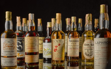 The real deal? Radiocarbon dating can be used to get to the bottom of counterfeit vintage whisky debates. Photo: Sotheby's