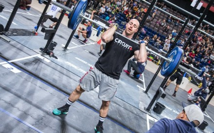 Former rugby player Ollie Mansbridge is now one of the faces of CrossFit in the UK. Photo: Pete Williamson Photography