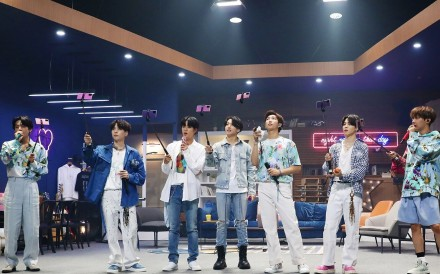 Is this the future of live music – BTS during its groundbreaking Bang Bang Con: The Live online concert. Photo: Big Hit Entertainment
