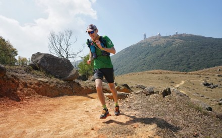 Will Hayward, winner of the Hong Kong backyard ultra and second place at Big Dog's in Tennessee 2019. Photo: Lloyd Belcher