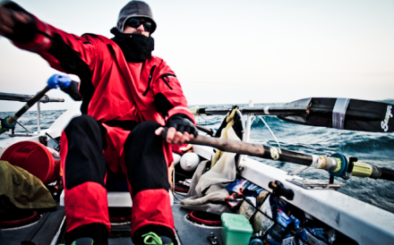 Paul Ridley warns to expect 'a cold that will scare you' when rowing in the Arctic Ocean. Photos: Scott Mortensen
