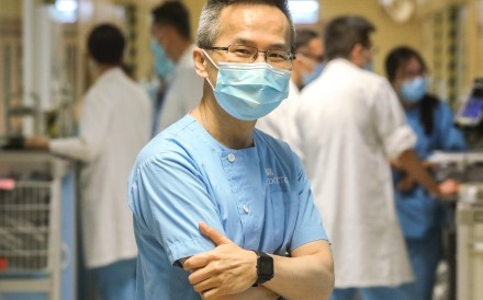 Dr Owen Tsang, medical director of the Hospital Authority's infectious disease centre. Photo: K.Y. Cheng