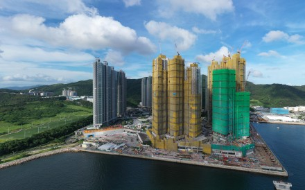 Lohas Park Sea to Sky housing development in Tseung Kwan O, Hong Kong. Photo: Martin Chan
