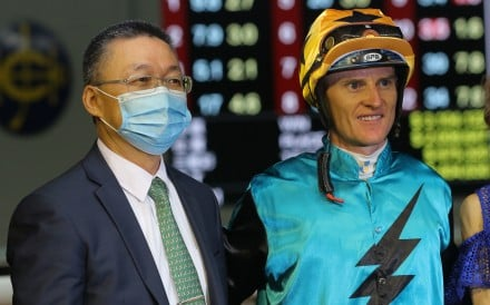Francis Lui and Zac Purton after Alpha Hedge's win at Happy Valley in June. Photos: Kenneth Chan