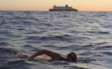 Three lawyers became the first all-Hong Kong relay team to swim across the English Channel, despite almost doubling the distance due to currents and tides. Photos: Handout