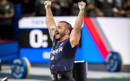 Mat Fraser looks set to repeat his 2019 success and win yet another CrossFit Games. Photo: Michael Valentin