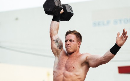 Noah Ohlsen is in second place after four events at the 2020 CrossFit Games. Photo: Handout
