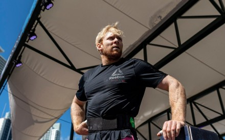 Patrick Vellner sits in eighth – can he climb up the leader board on day two? Photo: Loud & Live, Inc