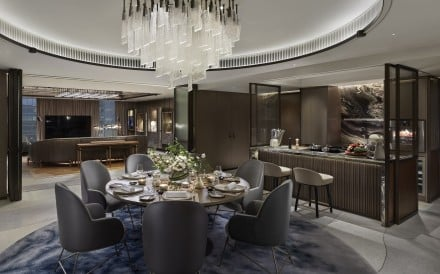 The Entertainment Suite at Hong Kong's Landmark Mandarin Oriental offers the kind of treatment only A-listers normally get to enjoy. Photo: Landmark Mandarin Oriental