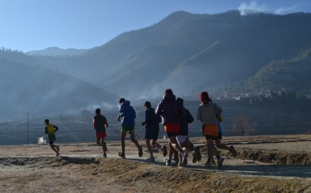 The Karnali Sports Club provided humanitarian aid when thousands of returning workers became stranded on the Nepal-Indian border. Photo: Karnali Sports Club