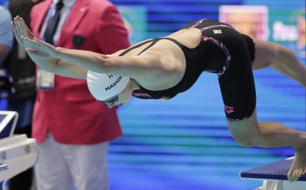 Siobhan Haughey is to race in her first major competition of the year at the ISL in Budapest next month. Here, she competes at the 2019 World Championships in Gwangju, South Korea. Photo: AP