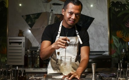 Agung Prabowo at The Old Man. Prabowo is set to leave the award-winning bar he helped establish to launch two new concepts, The Penicillin and Dead &, ready to open this autumn. Photo: SCMP