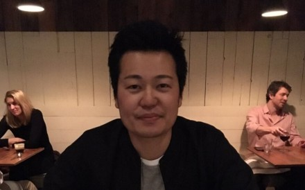 Japanese chef Taku Sekine. Photo: Twitter