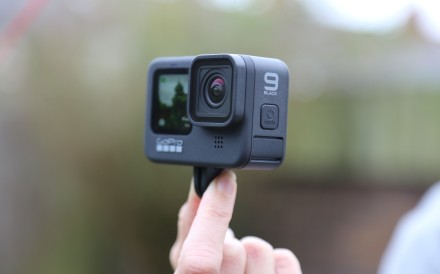 GoPro Hero9 Black is the company's first action camera/webcam. Photo: Jamie Carter